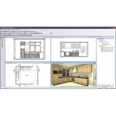CAD Kuchnie projekt