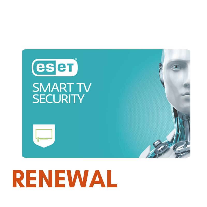 Odnowienie licencji ESET Smart TV Security