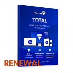 Odnowienie licencji F-Secure Total